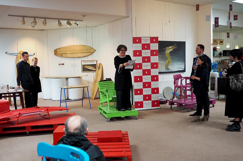 Carousel Book Launch - Marcella Polain
