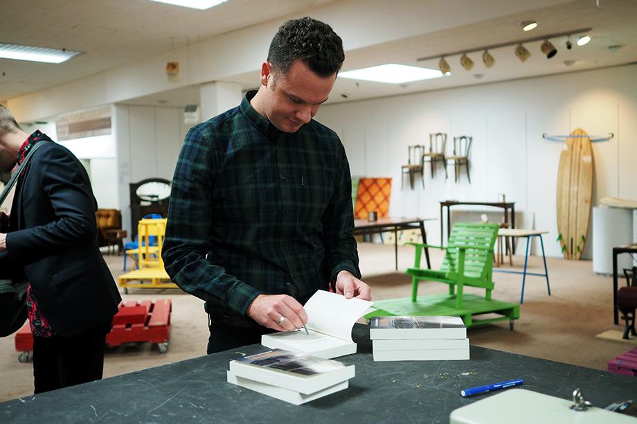 Carousel Book Launch - Brendan Ritchie